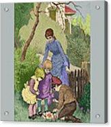 Vintage Easter Acrylic Print