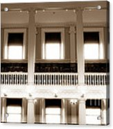 Vintage Faneuil Hall Acrylic Print by John Rizzuto