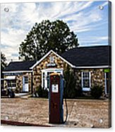 Vintage Fill Up Acrylic Print
