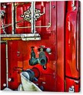 Vintage Fire Truck Acrylic Print
