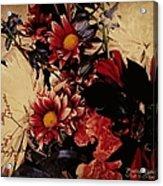Vintage Floral Beauty  Acrylic Print