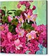 Vintage Floral Acrylic Print