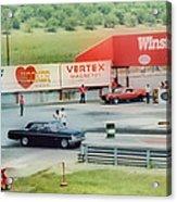 Vintage Ford Drag Racing Acrylic Print