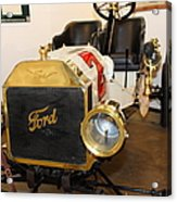 Vintage Ford Model T Racer 5d25613 Acrylic Print by Wingsdomain Art and Photography