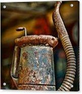 Vintage Garage Oil Can Acrylic Print