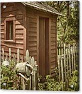 Vintage Garden Acrylic Print
