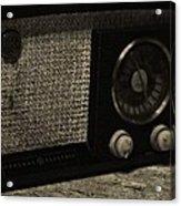 Vintage Ge Radio Acrylic Print