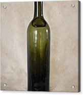 Vintage Glass Bottle Acrylic Print