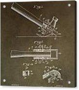 Vintage Hammer Patent Acrylic Print