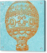Vintage Hot Air Balloon Acrylic Print
