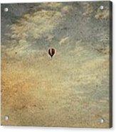 Vintage Hot Air Balloons Acrylic Print