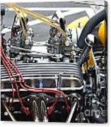 Vintage Hotrod Engine Acrylic Print