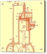 Vintage Internal Combustion Engine Patent 1940 Acrylic Print