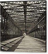 Vintage Iron Truss Bridge Acrylic Print