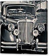 Vintage Jaguar 1950s Acrylic Print