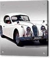 Vintage Jaguar Coupe Acrylic Print