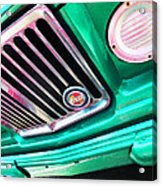 Vintage Jeep - J3000 Gladiator By Sharon Cummings Acrylic Print