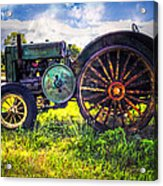 Vintage John Deere Acrylic Print