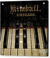 Vintage Kimball Piano Acrylic Print