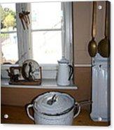 Vintage Kitchenware Acrylic Print