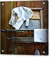Vintage Laundry Room  Acrylic Print