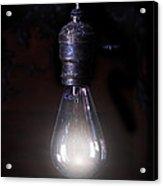 Vintage Lightbulb Acrylic Print