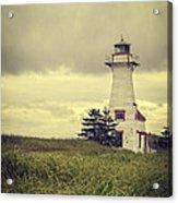 Vintage Lighthouse Pei Acrylic Print