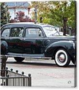 Vintage Lincoln Limo 1941 Acrylic Print