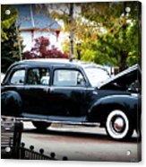 Vintage Lincoln Limo II Acrylic Print