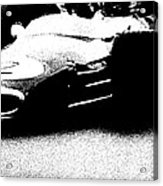 Vintage Lotus At Speed Acrylic Print