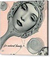 Vintage Make Up Advert Acrylic Print