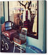 Vintage Memories Acrylic Print