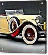 Vintage Mercedes Convertible Acrylic Print