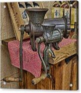 Vintage Mincers Acrylic Print