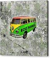 Vintage Minibus Acrylic Print