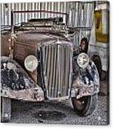 Vintage Morris Commercial Acrylic Print