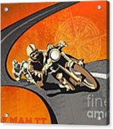 Vintage Motor Racing  Acrylic Print