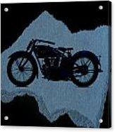 Vintage Motorcycle Acrylic Print