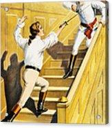 Vintage Nostalgic Poster - 8005 Acrylic Print