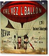 Vintage Nostalgic Poster - 8030 Acrylic Print