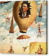 Vintage Nostalgic Poster - 8036 Acrylic Print