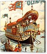 Vintage Nostalgic Poster - 8050 Acrylic Print