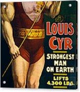 Vintage Nostalgic Poster 8061 Acrylic Print