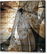 Vintage Nude  Acrylic Print