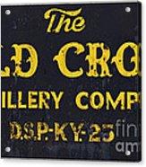 Vintage Old Crow - D008693 Acrylic Print