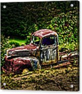 Vintage Old Forty's Pickup Acrylic Print