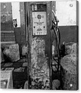 Vintage Old Gas Pump Acrylic Print