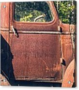 Vintage Old Rusty Truck Acrylic Print