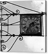 Vintage Paris Clock 2 Acrylic Print
