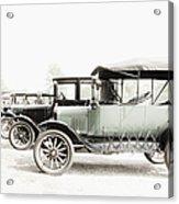 Vintage Parking Acrylic Print